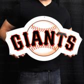 "San Francisco Giants 24"" Lasercut Steel Logo Sign"