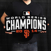 "San Francisco Giants 2014 Champs 23"" Lasercut Steel Logo Sign"