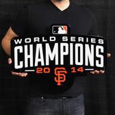 "San Francisco Giants 2014 Champs 23"" Lasercut Steel Logo Sign"