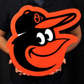"Baltimore Orioles 22"" Steel Logo Sign"