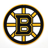 "Boston Bruins 12"" Lasercut Steel Logo Sign"