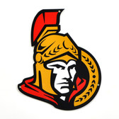 "Ottawa Senators 12""  Lasercut Steel Logo Sign"