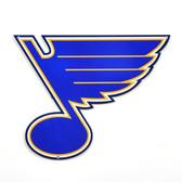 """St. Louis Blues 12"""" Lasercut Steel Logo Sign"""