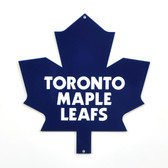 "Toronto Maple Leafs 12"" Lasercut Steel Logo Sign"