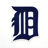 "Detroit Tigers 12"" Steel Logo Sign"