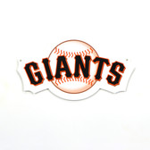 "San Francisco Giants 12"" Lasercut Steel Logo Sign"