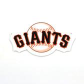 "San Francisco Giants 12"" Lasercut Steel Logo Sign"