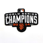 "San Francisco Giants 2014 Champs 12"" Lasercut Steel Logo Sign"