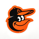 "Baltimore Orioles 12"" Bird Head Lasercut Steel Logo Sign"