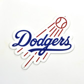 "Los Angeles Dodgers 12"" Lasercut Steel Logo Sign"