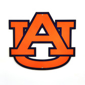 "Auburn Tigers 12"" Lasercut Steel Logo Sign"