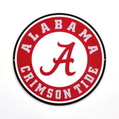 "Alabama Crimson Tide 12"" Lasercut Steel Logo Sign"