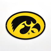 "Iowa Hawkeyes 12"" Lasercut Steel Logo Sign"