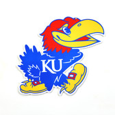 "Kansas Jayhawks 12"" Lasercut Steel Logo Sign"