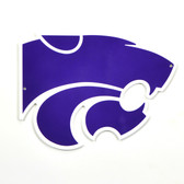"Kansas State Wildcats 12"" Lasercut Steel Logo Sign"