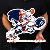 "Detroit Tigers 20"" Vintage Catcher Kitty Lasercut Steel Logo Sign"