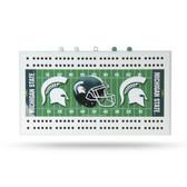 Michigan State Spartans  Field Cribbage Board