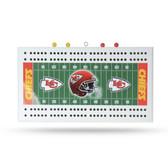 Kansas City Chiefs   Field Cribbage Board