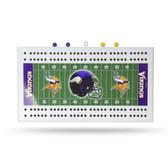 Minnesota Vikings  Field Cribbage Board