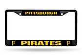 Pittsburgh Pirates Black Chrome Frame