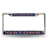 Florida Gators Blue Laser Chrome Frame