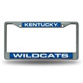 Kentucky Wildcats Blue Laser Chrome Frame