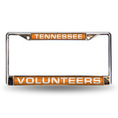 Tennessee Volunteers Orange Laser Chrome Frame