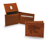 Kansas State Wildcats  Embossed Leather Billfold