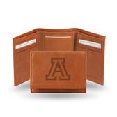 Arizona Wildcats Embossed Leather Trifold