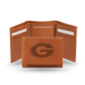 Georgia Bulldogs Embossed Leather Trifold