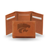Kansas State Wildcats  Leather Embossed Trifold