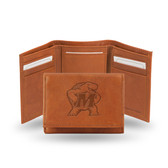 Maryland Terrapins Embossed Leather Trifold