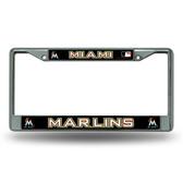 Miami Marlins Chrome Frame