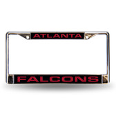 Atlanta Falcons  Black Laser Chrome Frame