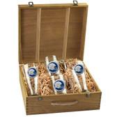 West Virginia Mountaineers Beer Stein and Pilsner Box Set