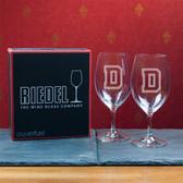 Dartmouth College  Set of 2 Riedel 18 OZ Red Wine Glasses