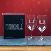 Miami Hurricanes  Set of 2 Riedel 18 OZ Red Wine Glasses