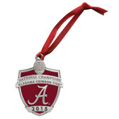Alabama Crimson Tide 2015-16 College Football Champions Ornament