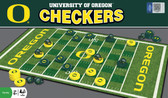 Oregon Ducks Checkers