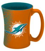 Miami Dolphins 14 oz Mocha Coffee Mug