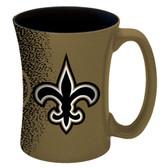 New Orleans Saints 14 oz Mocha Coffee Mug