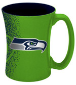 Seattle Seahawks 14 oz Mocha Coffee Mug