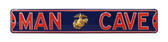 Marines Man Cave Street Sign - Enlisted