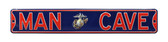 Marines Man Cave Street Sign - Officer