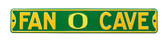 Oregon Ducks Fan Cave Street Sign