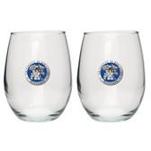 Kentucky Wildcats Stemless Wine Glass (Set of 2)