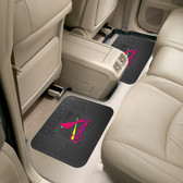 "St. Louis Cardinals Backseat Utility Mats 2 Pack 14""x17"""