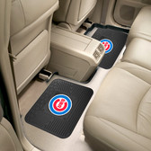 "Chicago Cubs Backseat Utility Mats 2 Pack 14""x17"""
