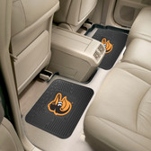 "Baltimore Orioles Backseat Utility Mats 2 Pack 14""x17"""