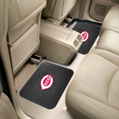 "Cincinnati Reds Backseat Utility Mats 2 Pack 14""x17"""